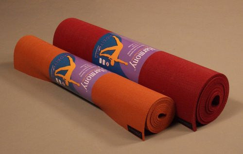"Fusion 24"" x 74"" Yoga Mat (Color: Sedona Red)"