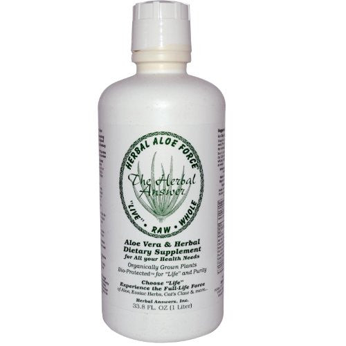 Herbal AloeForce Liquid 33.8oz.