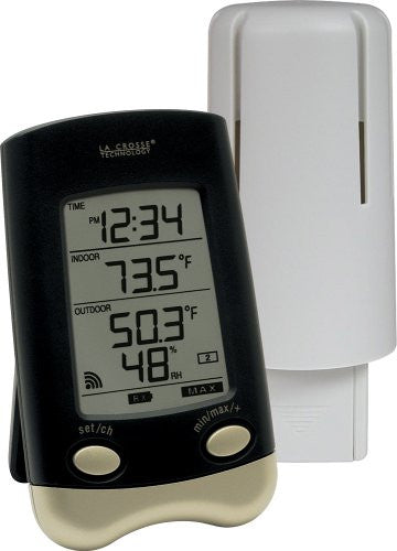 La Crosse Technology WS-9023U-IT Wireless Thermometer with Outside Humidity