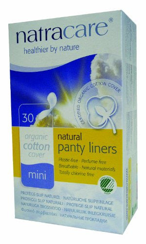 Natracare Feminine Hygiene Products Panty Liners (30 ct.)