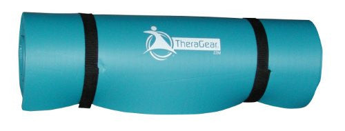 "Roll-up Extra Thick Exercise Mat, Small, 1/2"" X 24"" X 72"", Blue"