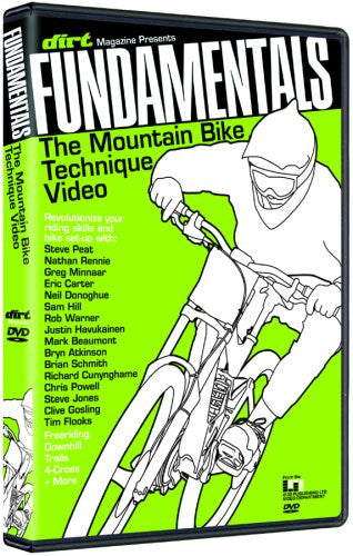 Fundamentals Mountain Bike Technique DVD