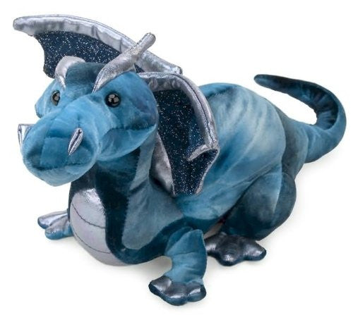 Plush Jade Blue Dragon 15""