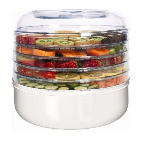 Ronco 5-Tray Food Dehydrator - White