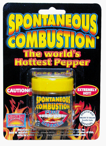 Spontaneous Combustion Pure Ground Habanero