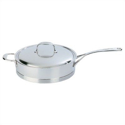 Demeyere Atlantis 4.2-Quart Sauté Pan with Lid