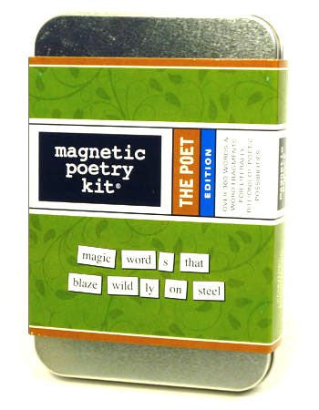 Magnetic Poetry The Poet Kit