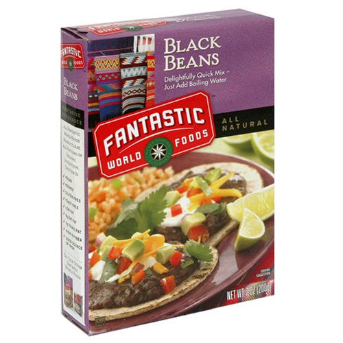 Fantastic Foods Black Beans 7.0 OZ