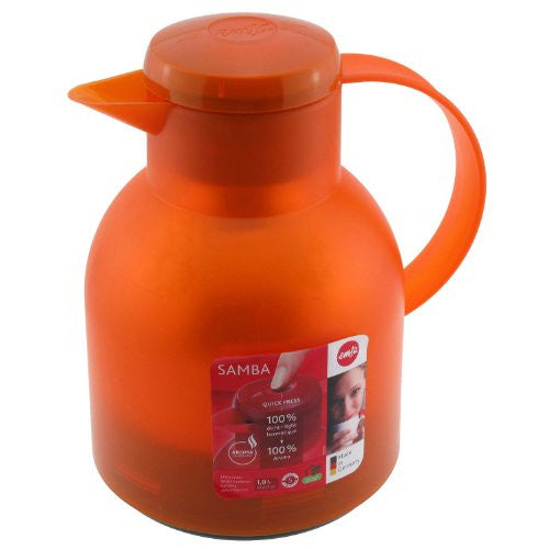 Samba Quick Press, Translucent Orange, 34 fl. oz.