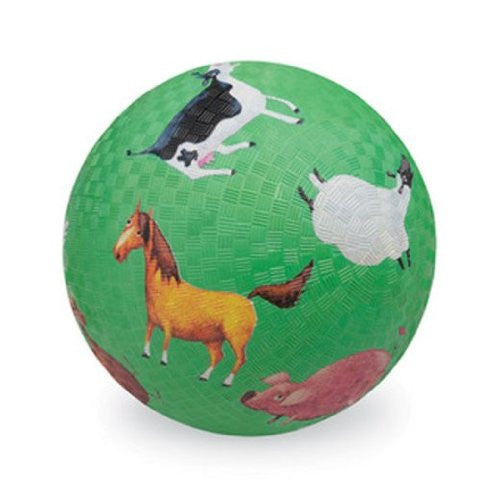 Crocodile Creek 7 inch Playball - Barnyard