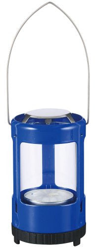 Mini Lantern Painted (Color: Blue)