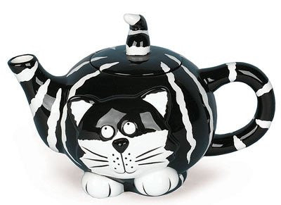 TEAPOT CHESTER CAT