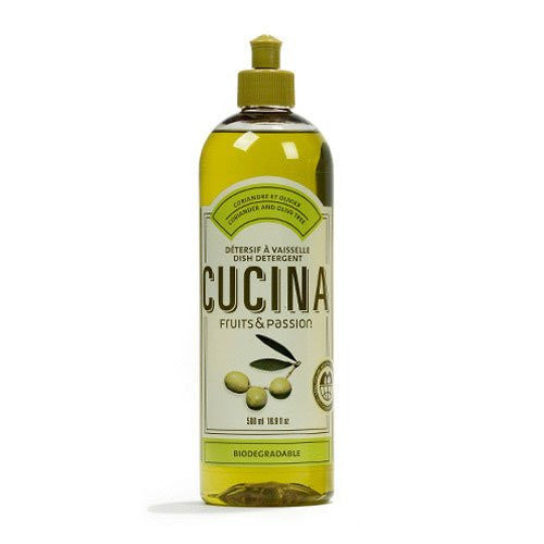 Fruits and Passion's Cucina Dish Detergent 500ML (Scent Name: Coriander and Olive)