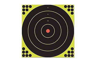 "Birchwood Casey Shoot-N-C Targets: Bull's-Eye SRC-5 12"" Round 200 Yard (5 Pack)"