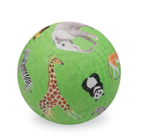 "Crocodile Creek Wild Animals 5"" Playground Ball"