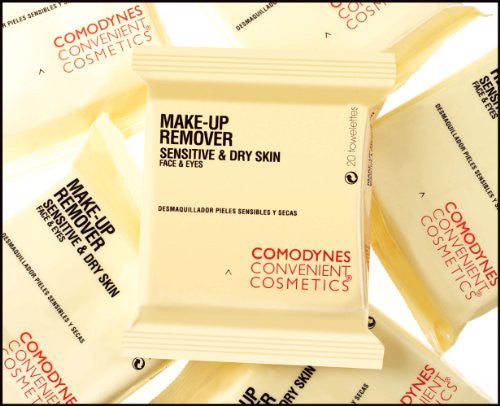 COMODYNES Make-Up Removers for Face & Eyes - OATS (sensitive or dry skin) - 3 PACK!!