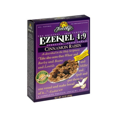 FOOD FOR LIFE Cereal Ezekiel 4:9 Cinnamon Raisin 6/16 OZ