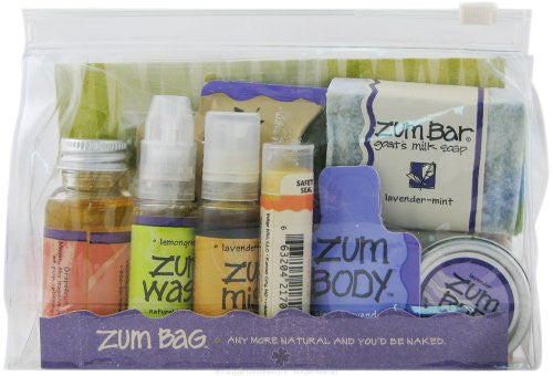 ALL-NATURAL BODY PRODUCTS ASSORTED ZUM BAG