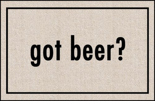 Got Beer Indoor/Outdoor Doormat