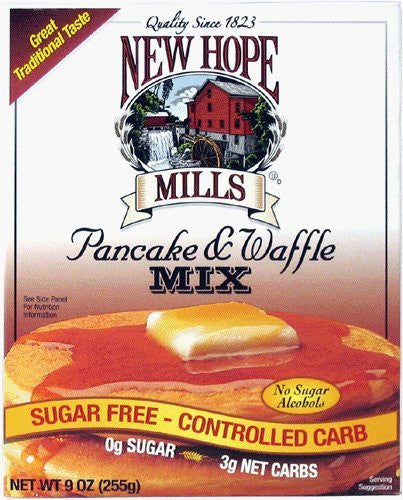Low Carb/Sugar Free Pancake & Waffle Mix 9 oz