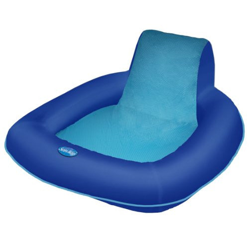 Spring Float SunSeat - Blue/Aqua
