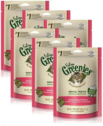 6-PACK Greenies Felines - SALMON (15oz)