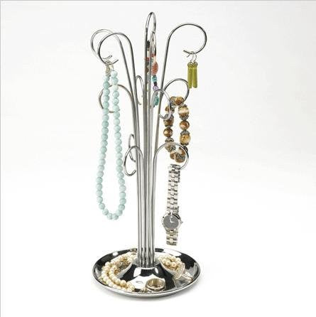 Umbra Bijou Metal Jewelry Tree, Chrome