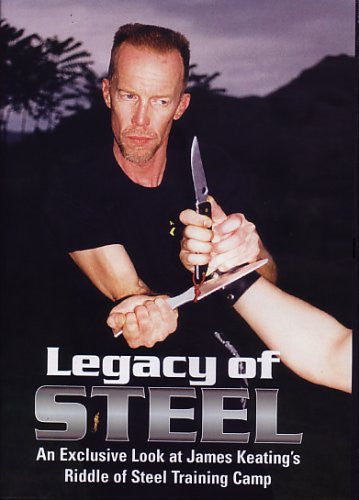 Legacy of Steel DVD - An Exclusive Look at James Keating's Riddle of Steel Training Camp