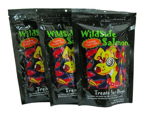 WildSideSalmon Training Treats for Dogs - 3oz