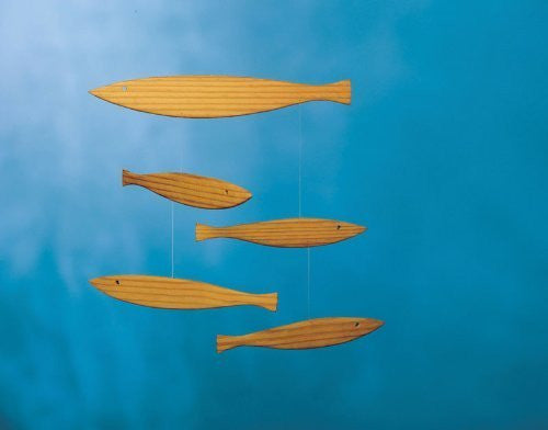 Flensted Mobiles Nursery Mobiles, Floating Fish