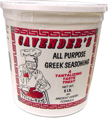 Cavender's All Purpose Greek Seasoning 5 lbs Tub