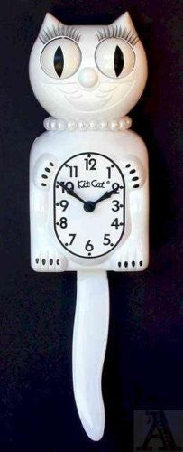 Kit Cat Clock (FM) (Color: White)