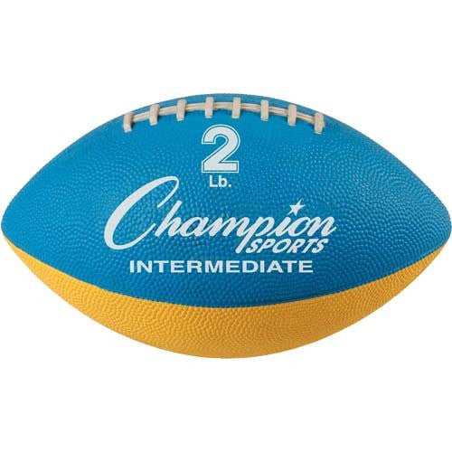 Champion Sports Intermediate Weighted Football Trainer