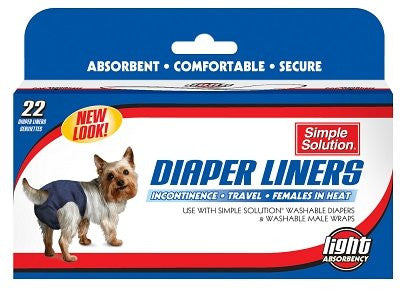 Simple Solution Diaper Liners 22pk