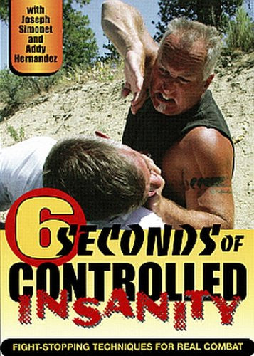 SIX SECONDS OF CONTROLLED INSANITY - Fight-Stopping Techniques for Real Combat - by Joseph Simonet & Addy Hernandez