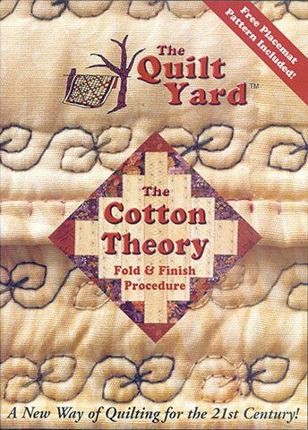 Cotton Theory Quilting Instructional DVD