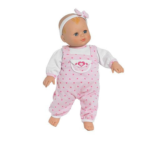 Baby Cuddles Hearts A Flutter - Baby 14 inch doll