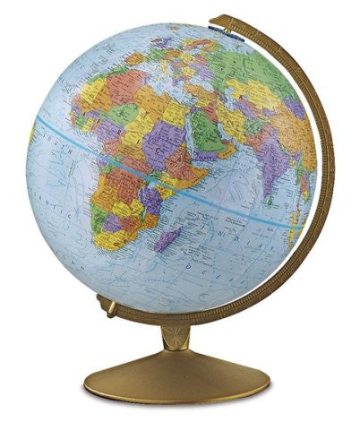 "Replogle Explorer 12"" Blue English Globe - 30501"
