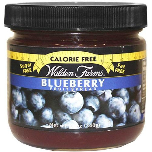 Walden Farms Blueberry Fruit Spread Calorie Free, Carb Free, Fat Free, Sugar Free