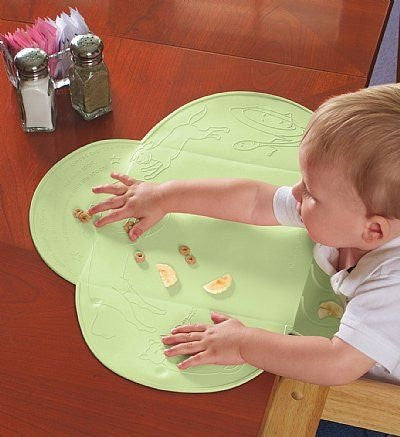 Kiddopotamus Tinydiner Placemat (Color: Green)