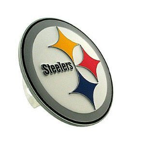 Siskiyou Pittsburgh Steelers Logo Hitch Cover