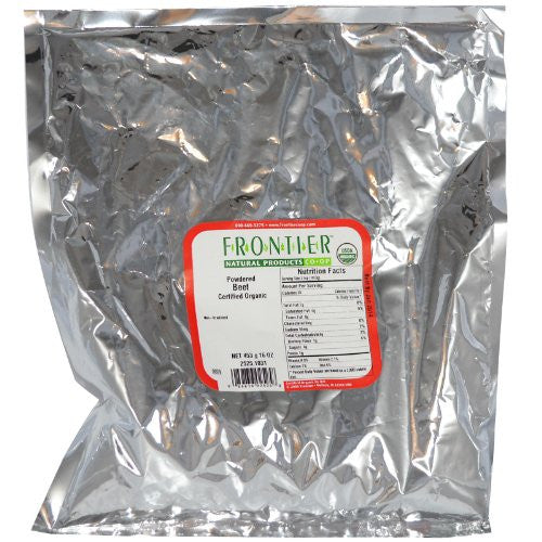 Bulk Beet Powder, ORGANIC, 1 lb. package