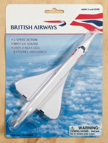 British Airways Concorde Pullback W/LIGHTS & Sound