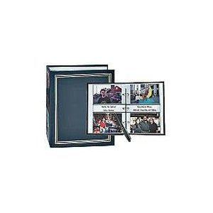 Memo Pocket 3-Ring Binder Album, Assorted Colors