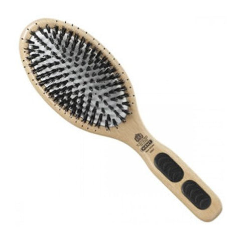 Kent Natural Shine Large Cushion Porcupine and Bristle Hairbrush