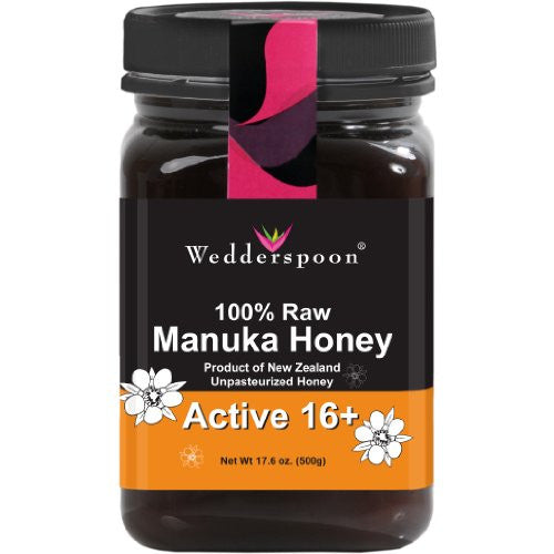 100% Raw Premium Manuka Honey Active 16+ 500g/17/6oz