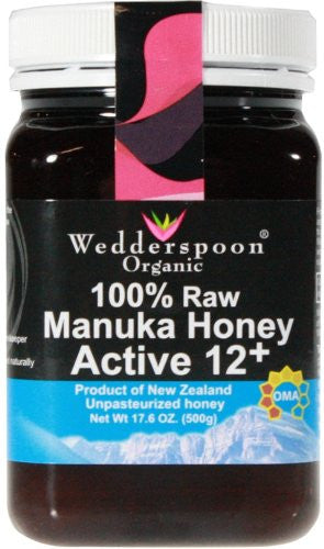 100% Raw Premium Manuka Honey Active 12+ 500g/17.6oz