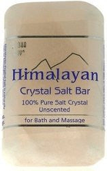 Himalayan Natural Bath Salt Soap Bar Shape