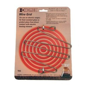 Chemex Stainless Steel Wire Grid for Use on Electric Stove, 6.5 Inch