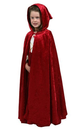 "Cloak Red (L/XL 5-9 yrs of age, 32"")"